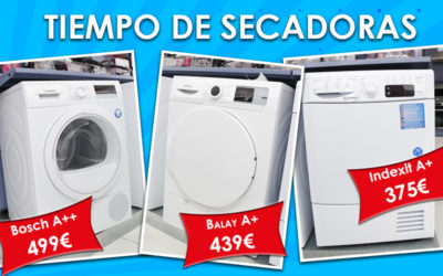 Ventajas de comprar una secadora… ¡y ofertas!